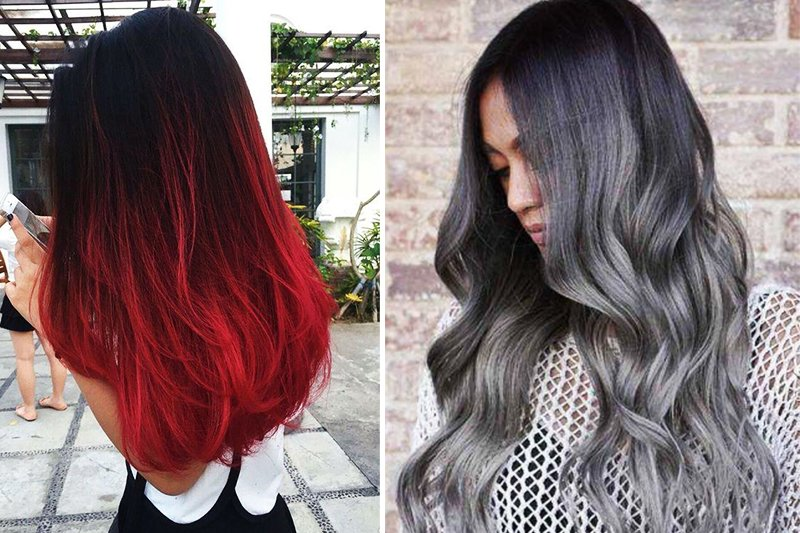 тенденции окрашивания волос