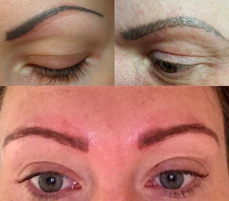 заживление перманентного макияжа