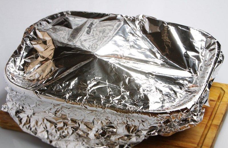 телятина в духовке