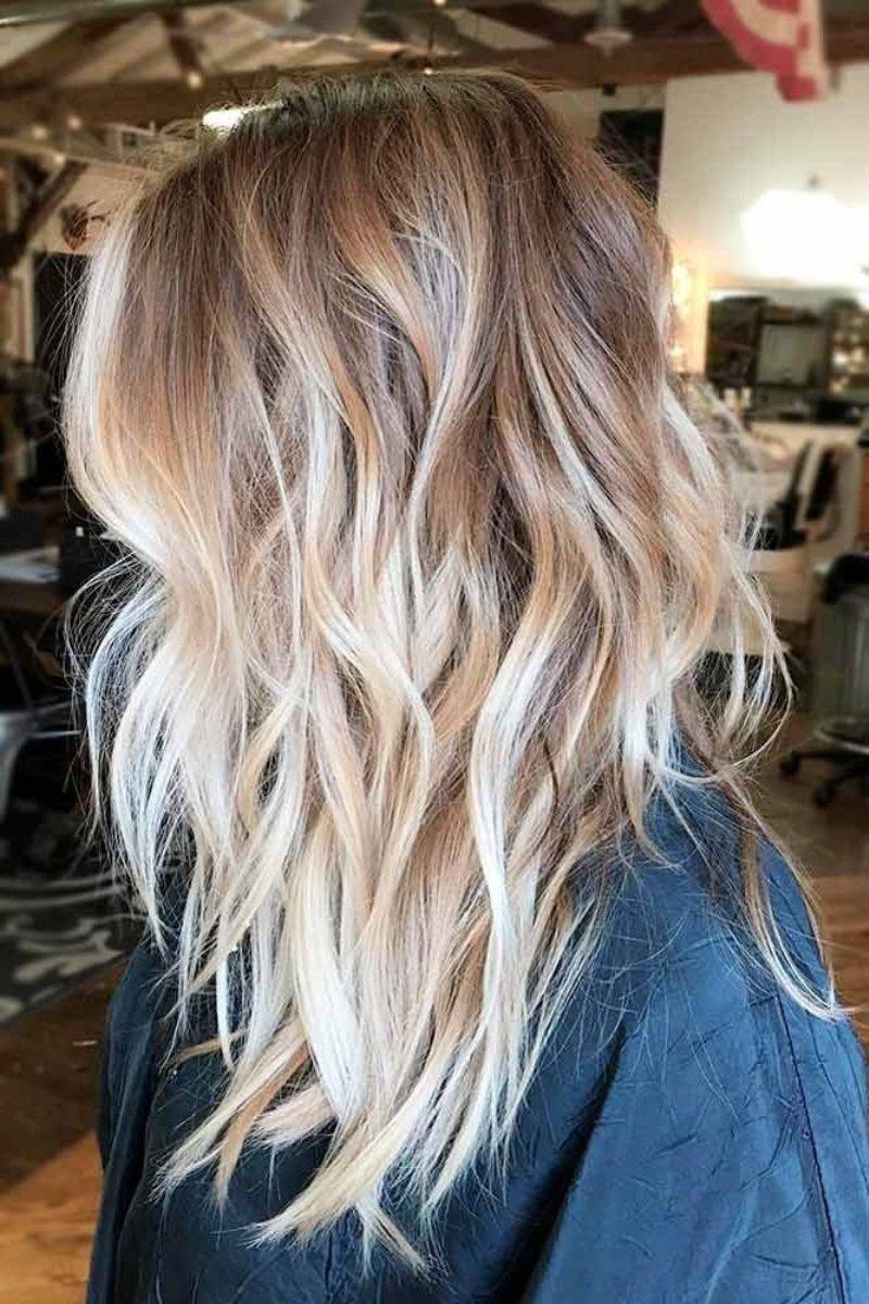 тенденции покраски волос — 2018
