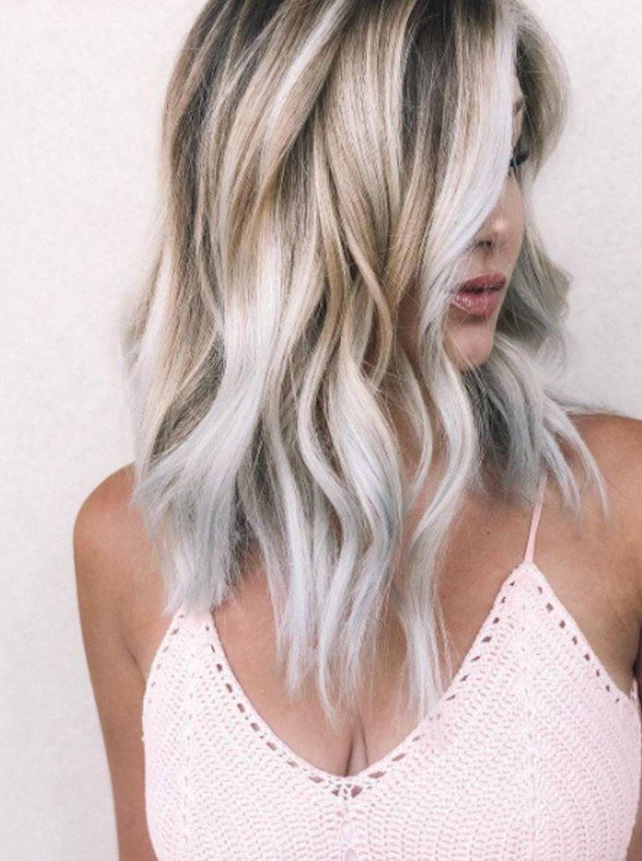 модные тенденции покраски волос — 2018