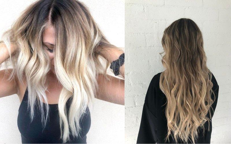 тренды на цвет волос — 2018
