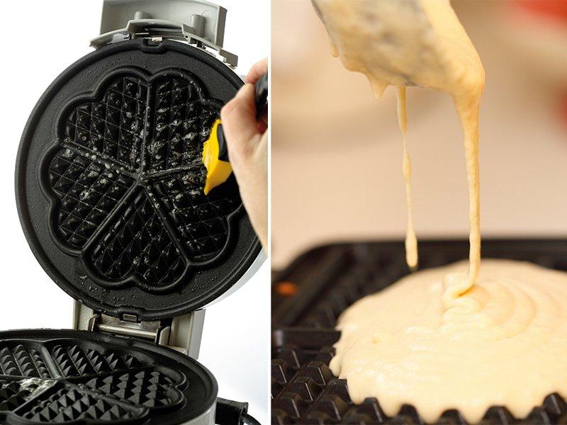 вафли в вафельнице рецепт хрустящие