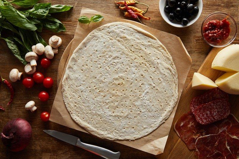тесто для итальянской пиццы дрожжевое