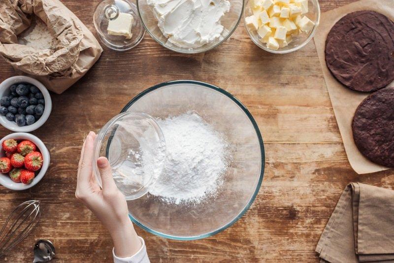 тесто для выпечки в духовке
