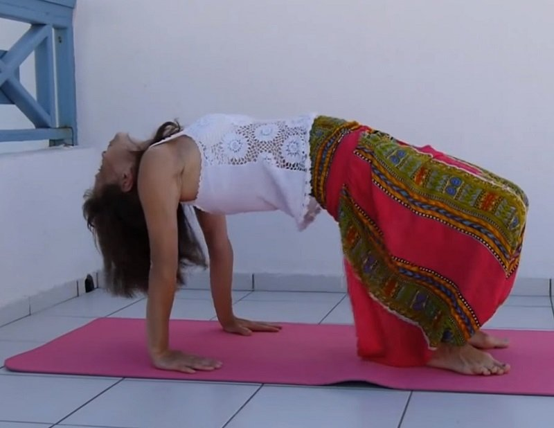 5 тибетских жемчужин гимнастика