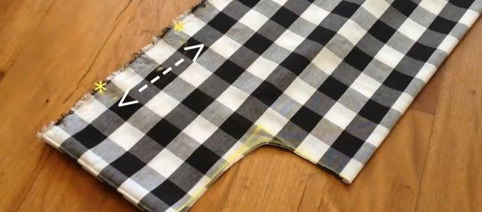 тканевая сумка для продуктов