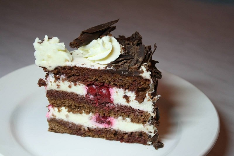 Торт черный лес по немецки