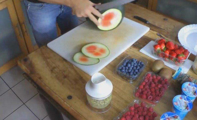 приготовление арбузного торта