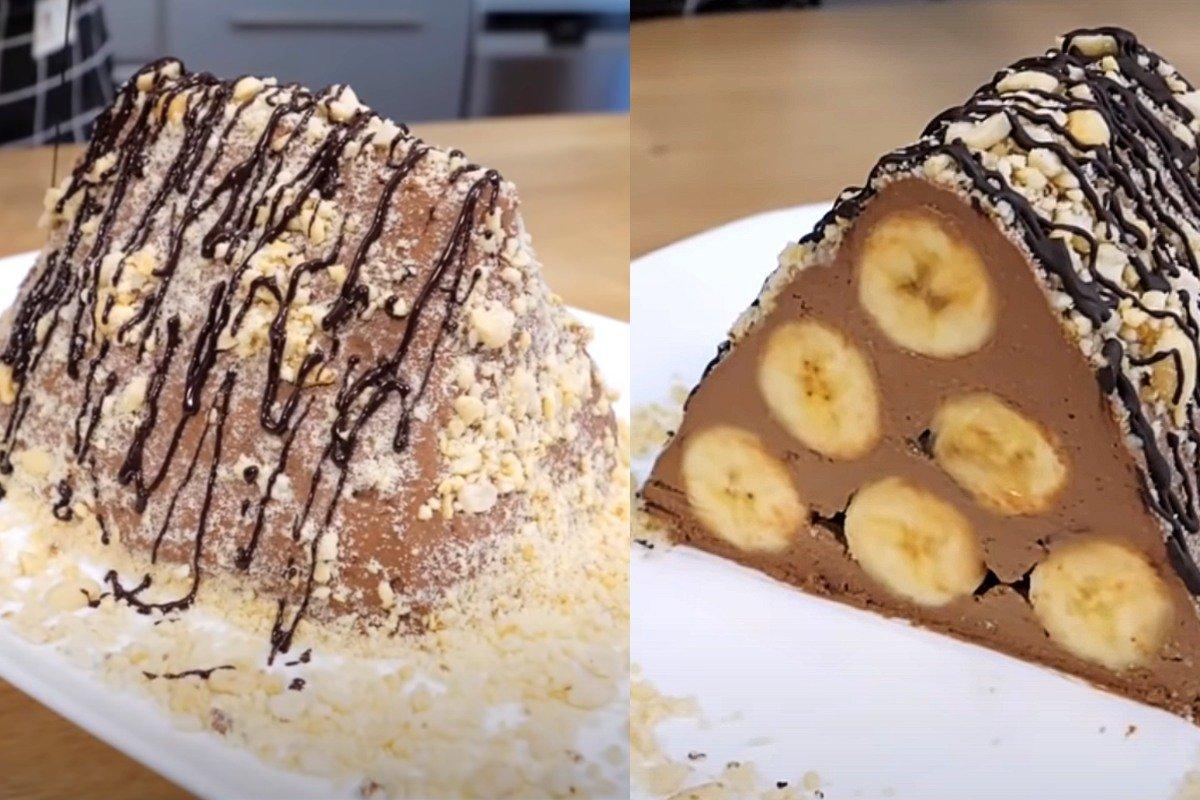 торт из бананов без выпечки