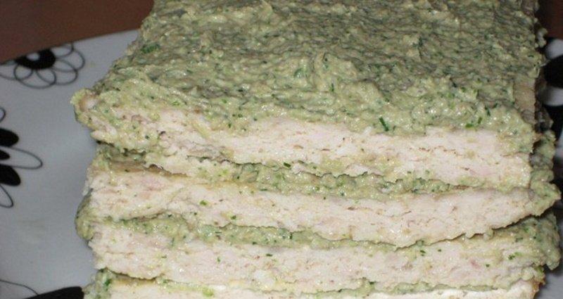 мясной торт как сделать