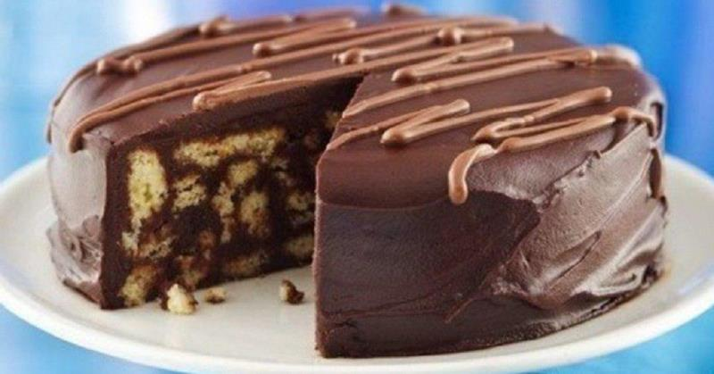 торт из пряников без выпечки