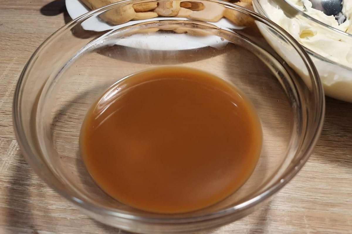 десерт из савоярди