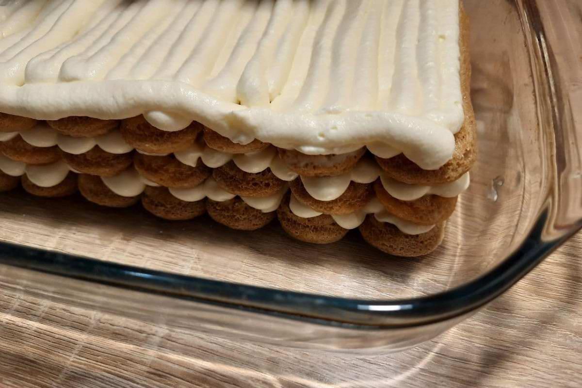 торт из итальянского печенья савоярди