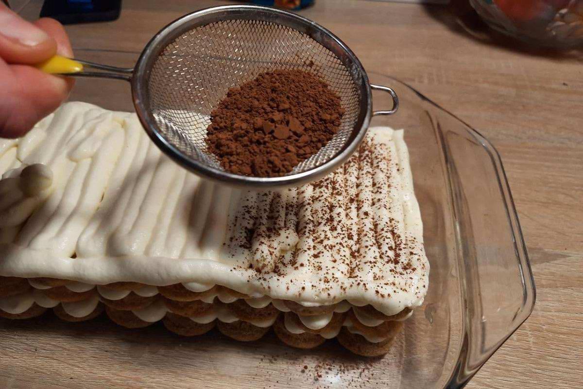 торт из савоярди