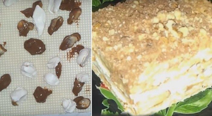 вафельный торт из фарша