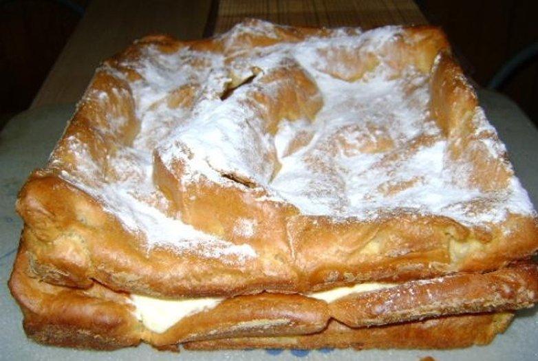торт карпатка в духовке