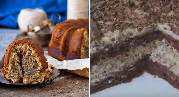 торт с халвой и сгущенкой