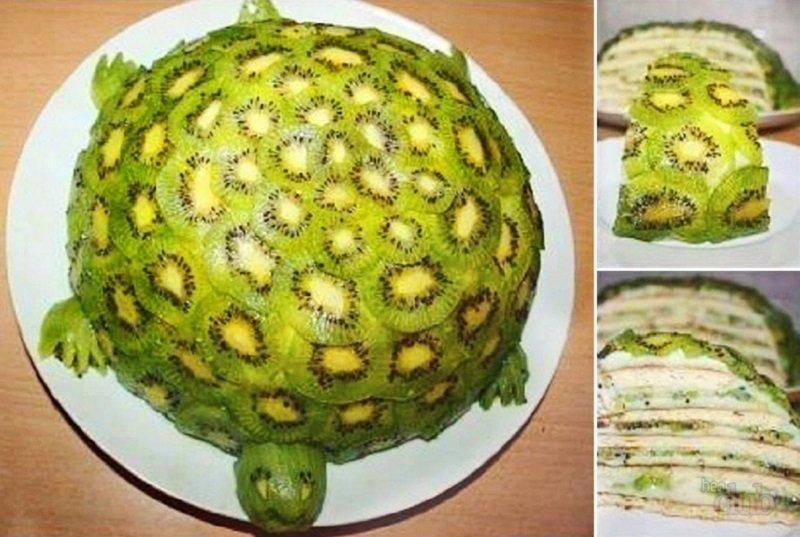 торт черепаха без выпечки
