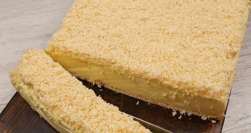 торт с кокосовой стружкой