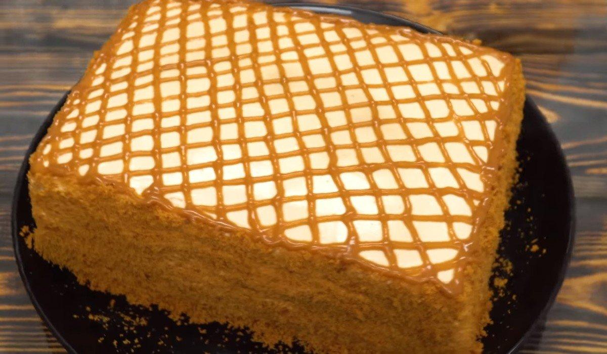 Рецепт торта «Карамельная девочка» со сгущенным молоком чтобы, десерт, сгущенным, каждый, перемешай, просто, коржи, венчиком, миксером, минут, молоком, крема, нужно, больше, приготовить, емкость, частиДля, помести, сметану, отдельную