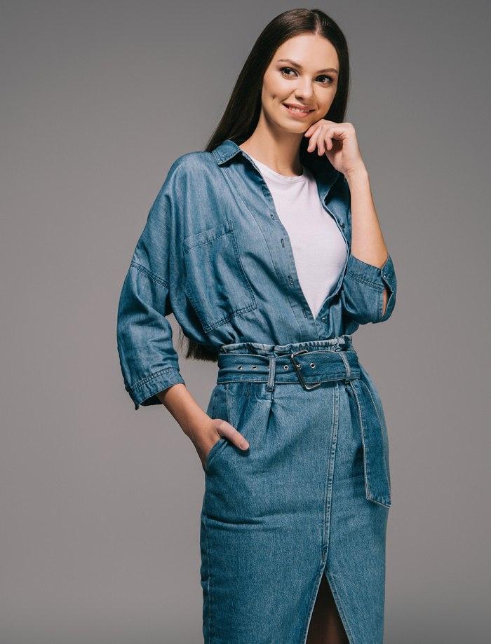 джинсовые наряды