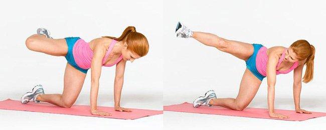 попа упражнения