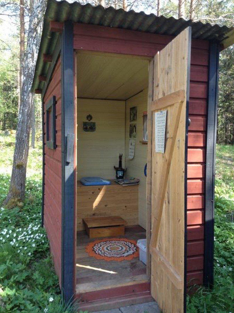 дачные туалеты деревянные