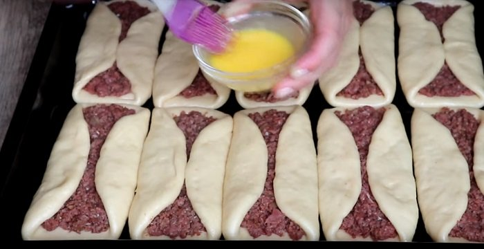 как приготовить пирожки с мясом