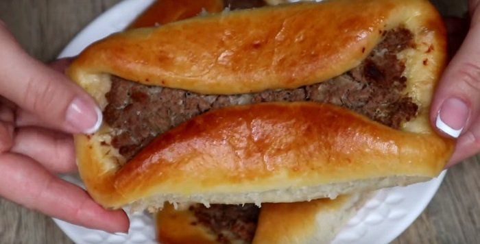 мясные пирожки в духовке