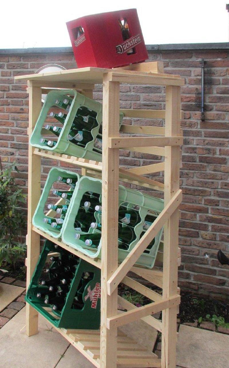 ящики с напитками