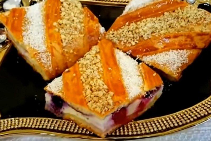 пирог с с вишней