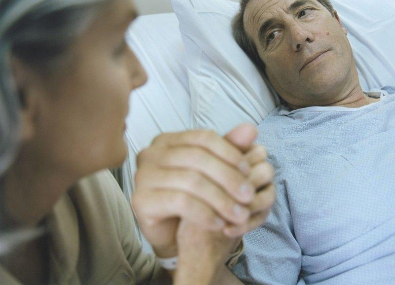 человек умирающий от рака
