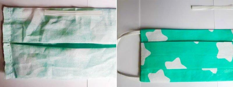 Инструкция по пошиву качественной маски без швейной машинки