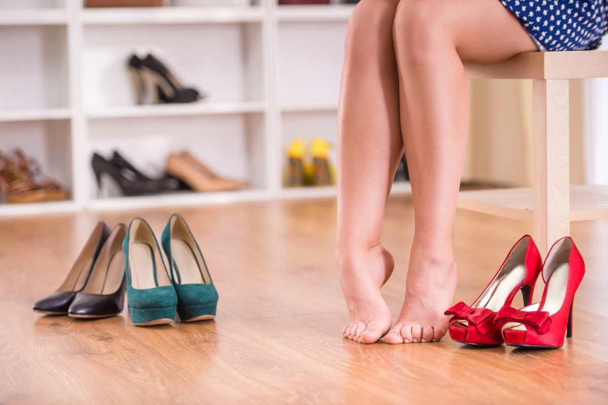 удобные туфли на высоком каблуке