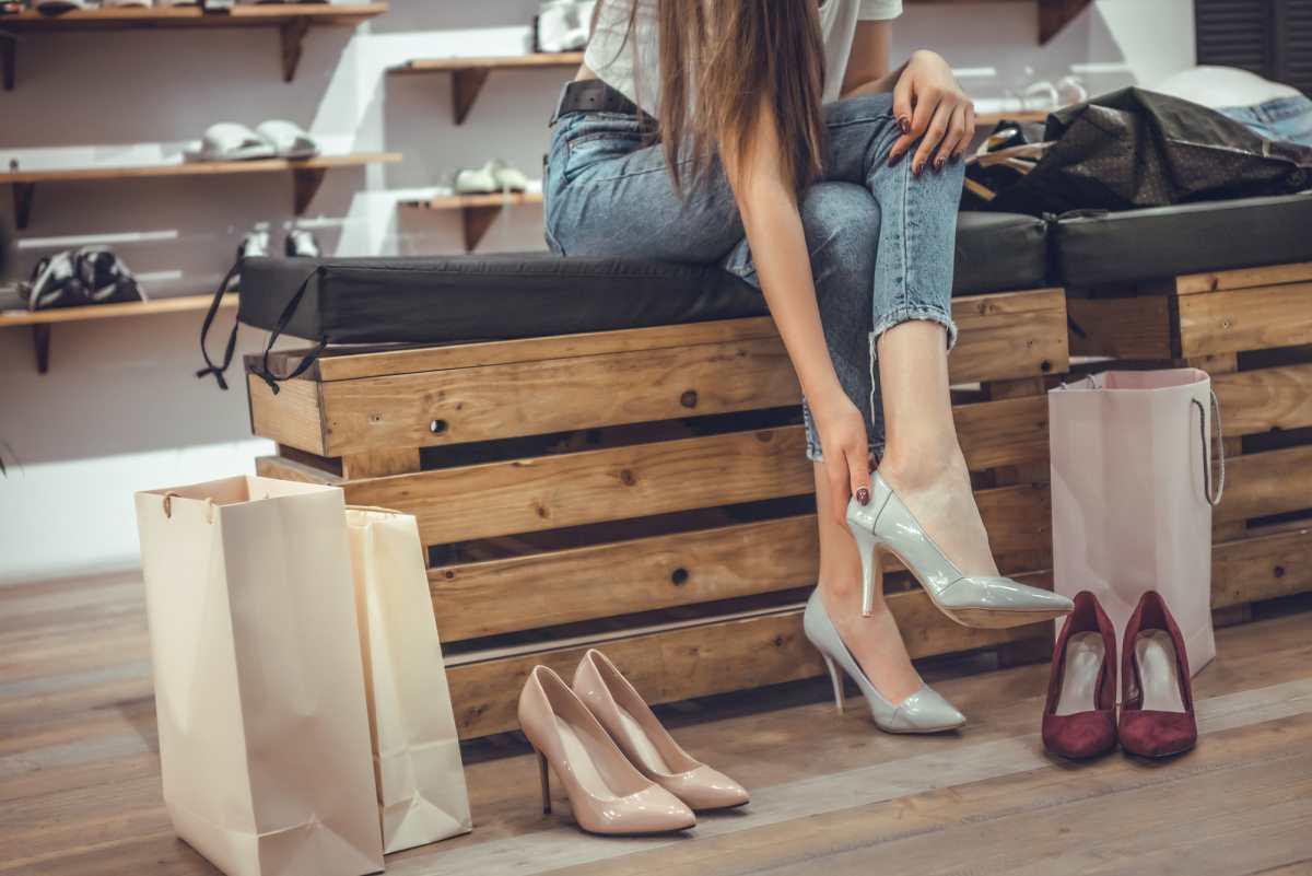 удобные туфли на шпильке