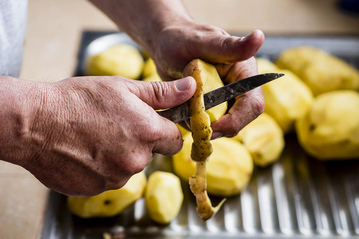 кожура от картошки