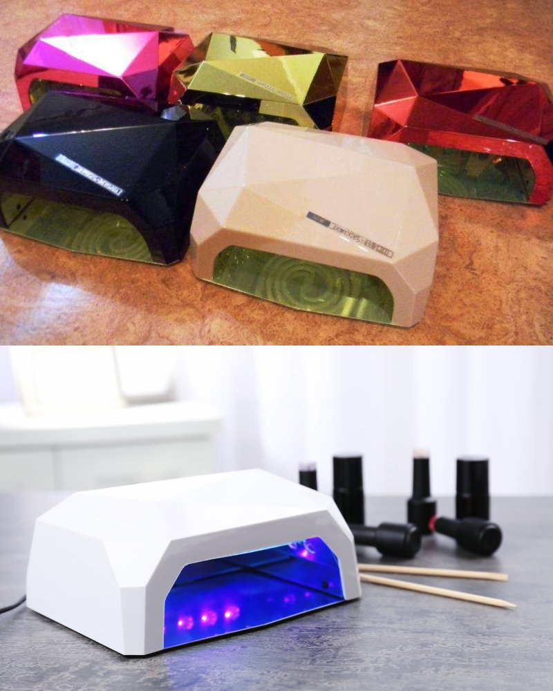 уф-лампы для наращивания ногтей