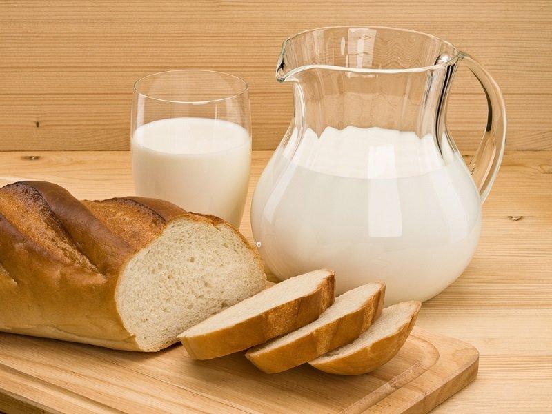 молоко и хлеб совместимость