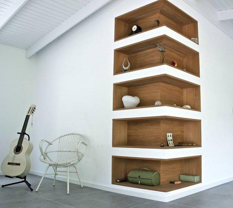 дизайн угла комнаты