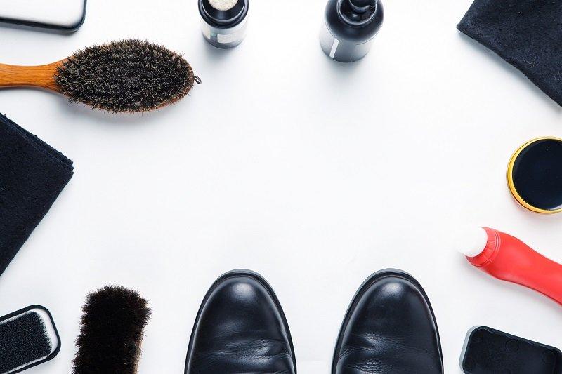 правильный уход за кожаной обувью
