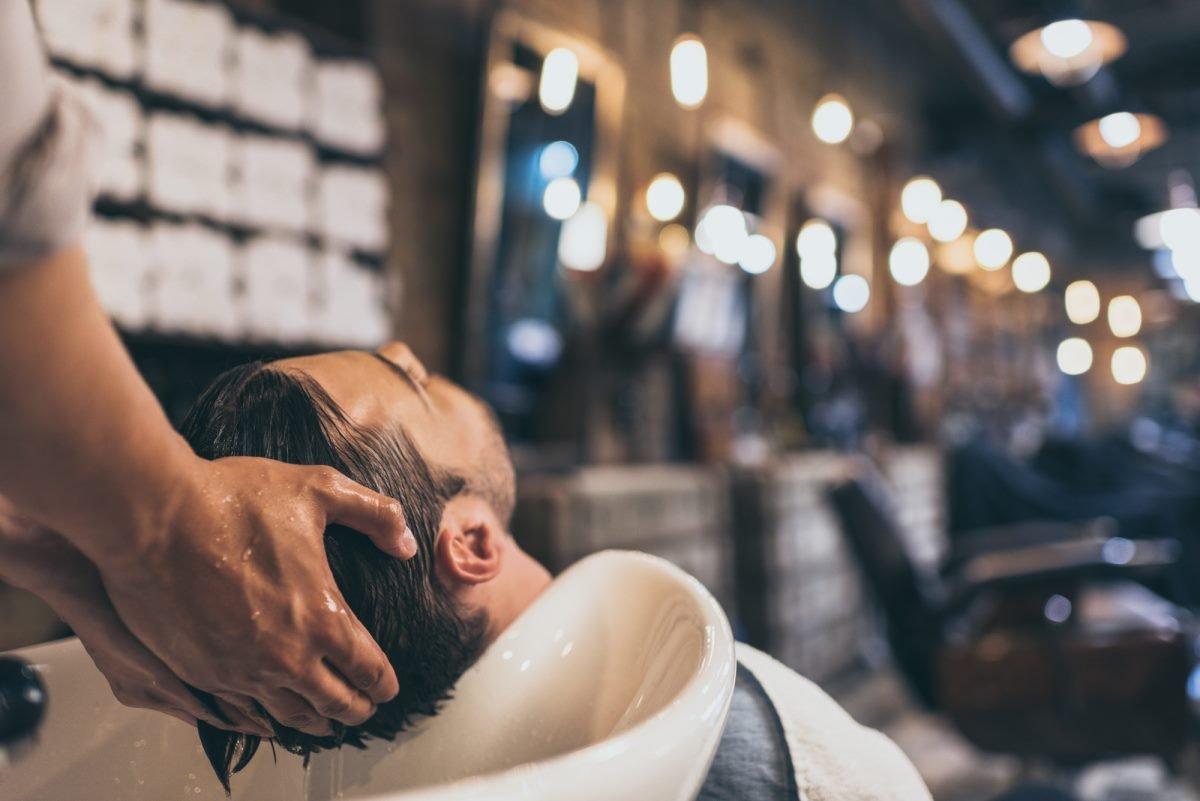 мытье головы гелем для душа