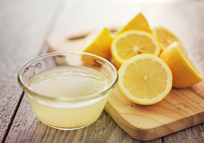 лимонный сок в баночке