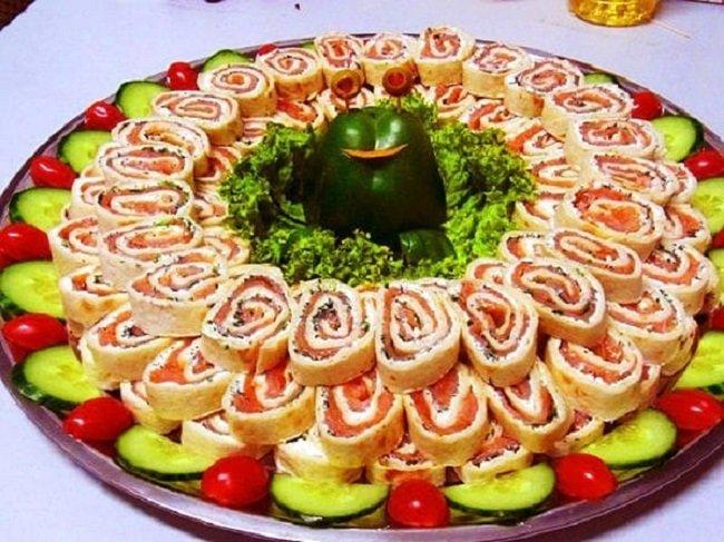 как красиво подать блюдо