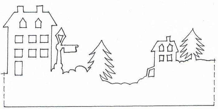 украшение окон в детском саду к новому году