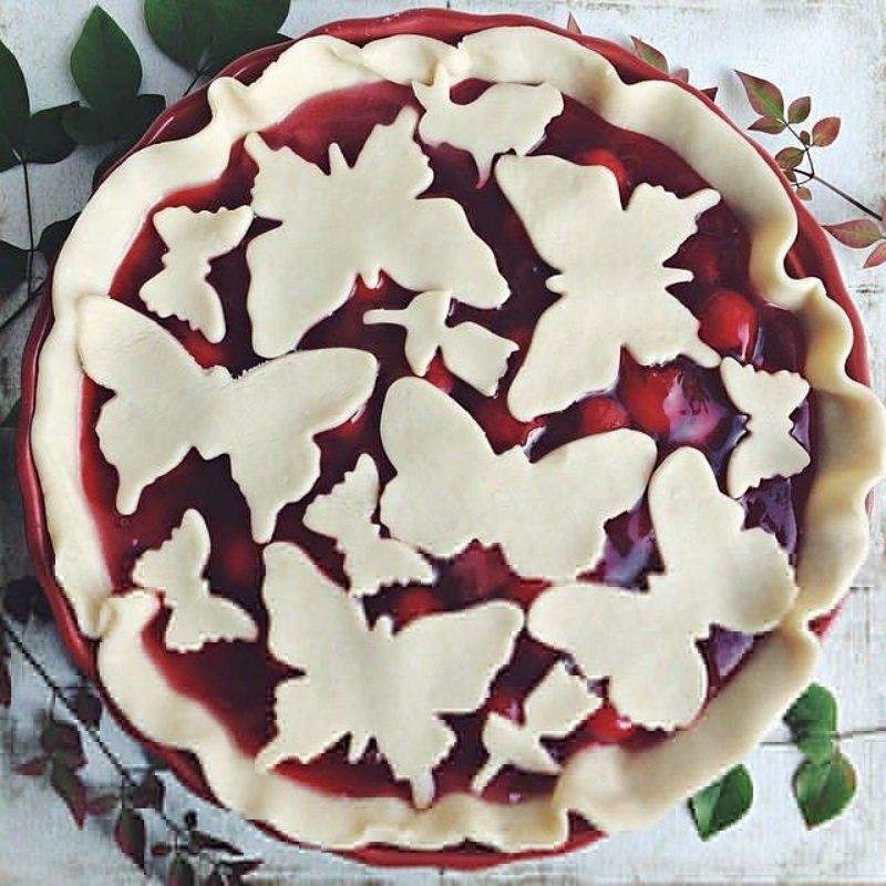 как украсить пирог красиво