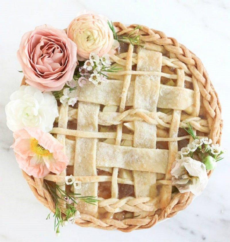красиво украсить пирог