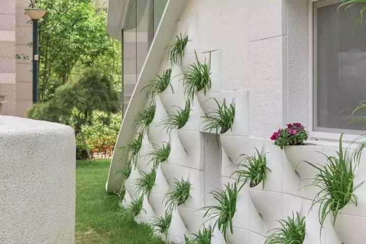 декор стены цветами
