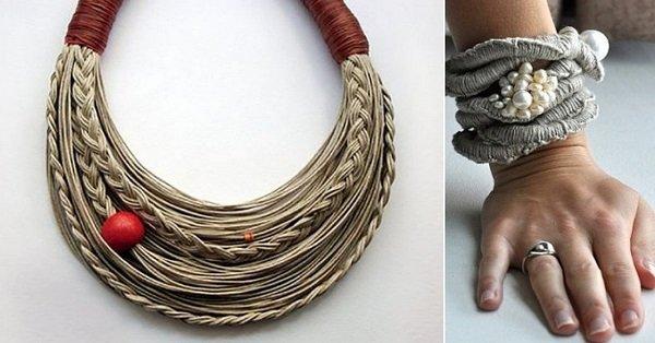 украшения из нитей мулине