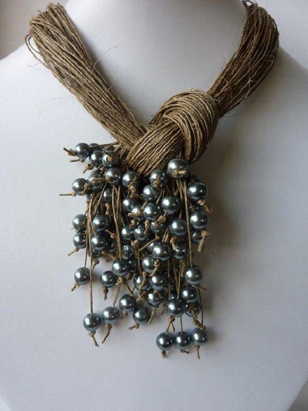 украшения из шелковых нитей